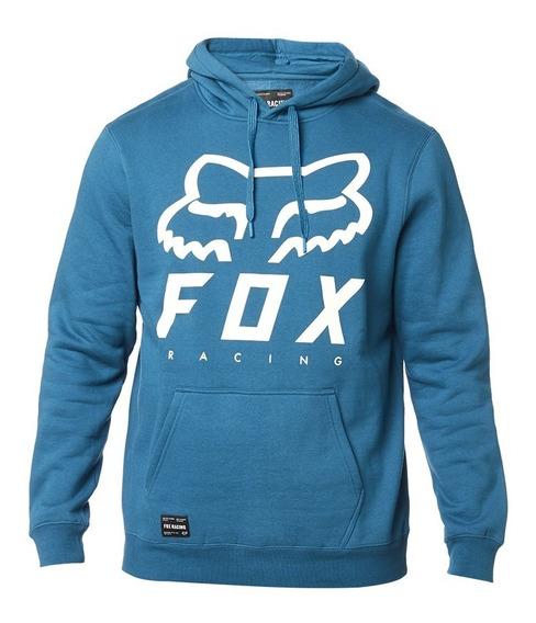 Sudadera Fox Pullover Heritage Forger Azul Maui