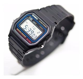 Reloj Casio W-59-1v Super Liviano 50m Sumergible Local Calle