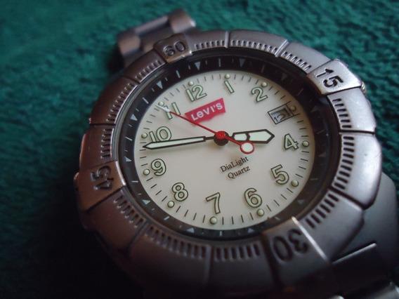 Levis Reloj Vintage Retro Con Luz