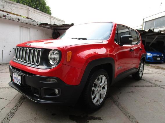 Jeep Renegade 5p Sport Ta,a/ac.,,ve,ra17