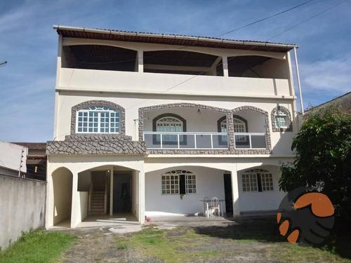 Casa Com 3 Pavimentos À Venda - Itapebussu - Guarapari/es - Ca0486
