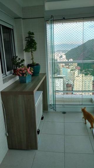 Cobertura Em José Menino, Santos/sp De 154m² 2 Quartos À Venda Por R$ 1.060.000,00 - Co85104