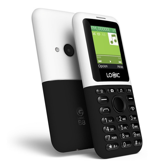 Telefono Celular Doble Sim Logic B8 Basico Barato Economico