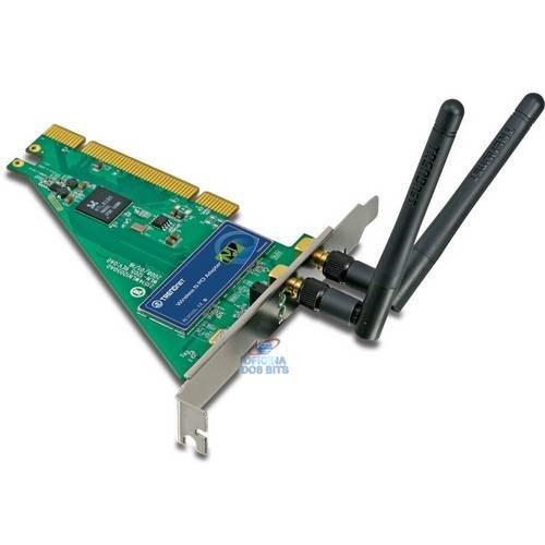 Placa De Rede Wireless Trendnet Pci Tew 643pi/a