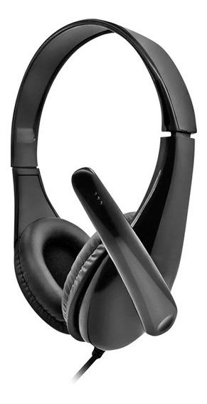 Fone De Ouvido Headset Business Multilaser Microfone Preto