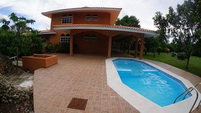 Villa 4 Habitaciones En Guavaberry, Juan Dolio