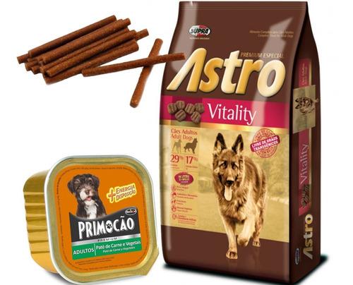 Imagen 1 de 2 de Astro Vitality Adulto Perros De Trabajo 15 Kg Con Regalo