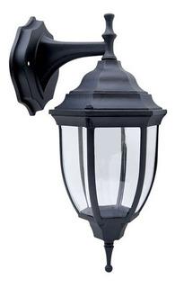 Farol Exterior Negro Suspendido 60w 136130 Surtek