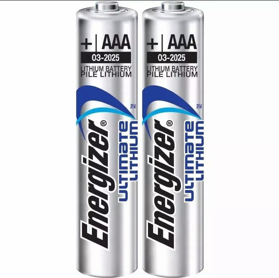 12 Pilha Aaa 1.5 Lithium Energizer Litio Ultimate Palito