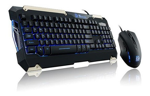 Kit Gamer Thermaltake Tt Sports Commander - Teclado E Mouse