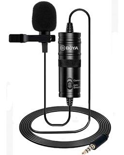 Microfono Boya M1 Corbatero Pc Celular Smartphone Video Dslr