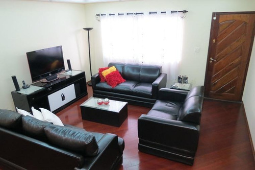 Imagem 1 de 18 de Sobrado Com 3 Dormitórios À Venda, 234 M² Por R$ 850.000,00 - Vila Sacadura Cabral - Santo André/sp - So1533