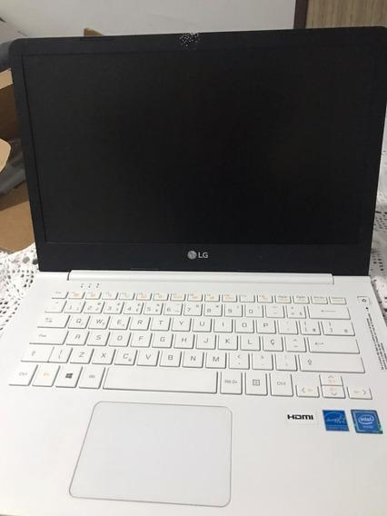 Notebook Lg Ultra Slim 14u360 Celeron N3160 4gb Hd 500gb 14