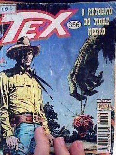 Revista Tex Nº356 Retorno Do Tigre Negro Vários