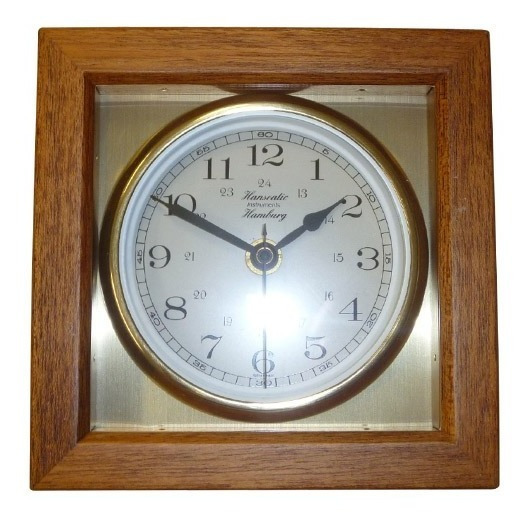 Relógio De Bordo Quartz 150/6111 Latão Alemão Eurosul