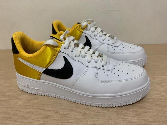 Tênis Nike Air Force 1 Nba Yellow /jordan Max Dunk Blazer