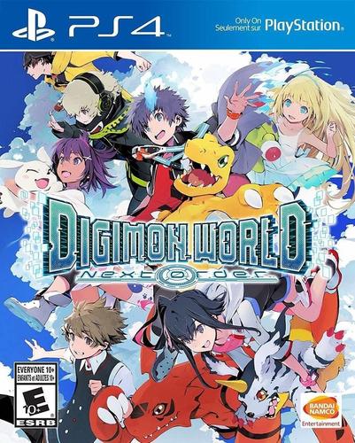 Imagen 1 de 3 de Digimon World Next Order Juego Ps4 Original + Garantía