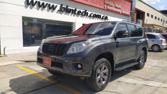Toyota Prado Tx Blindada 4.0 At 4x4 Gris Plata Metalico 2013