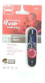 Mp3 Rca 4gb Radio Fm Manos Libres Pequeño
