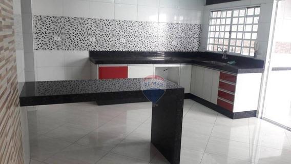 Casa Com 2 Dormitórios Para Alugar, 100 M² Por R$ 2.000/mês - Centro - Nova Odessa/sp - Ca0274