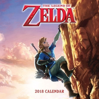 Calendario De Pared The Legend Of Zelda
