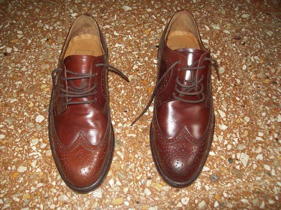 Zapatos Mocasines Para Hombre Cuero