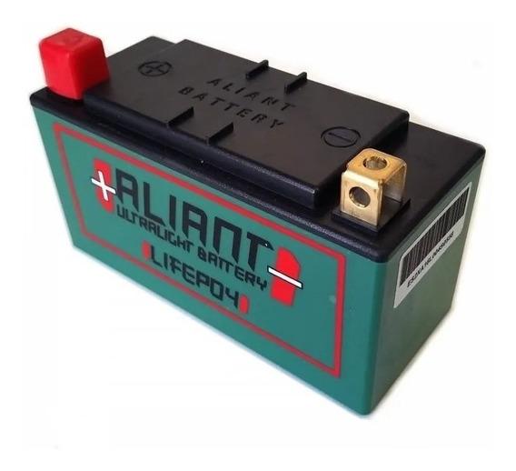 Bateria Lítio Aliant Ylp09b Zx6r Z750 Ninja 250 300 400 Z300