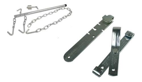 Imagem 1 de 3 de Kit Cerca: Alicate/chave Emendar Arame + Máquina Aramar