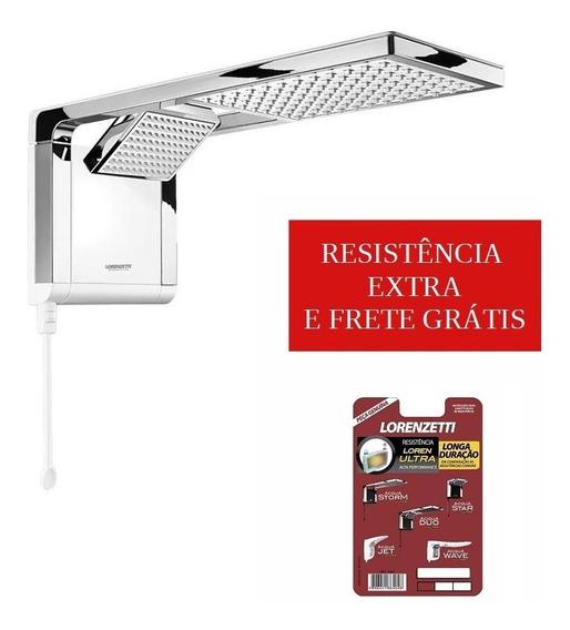 Ducha Lorenzetti Acqua Duo Ultra Branca + Resistencia Gratis