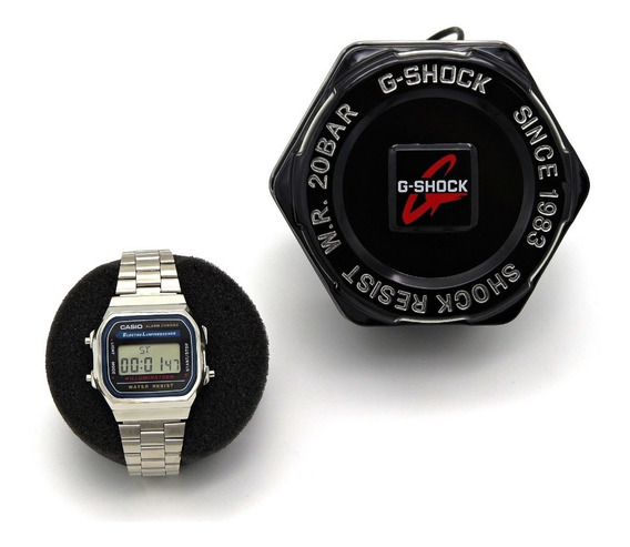 Relógio Digital Vintage - A168 Prata