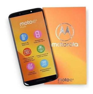 Teléfono Motorola E5 Plus 6pul. Detector De Huellas 32g 3gb