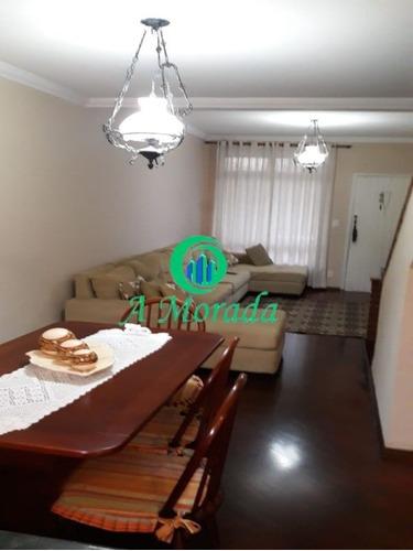 Lindo Sobrado Condomínio Chácara Ribeirão Pires! - Ca00781 - 69414553