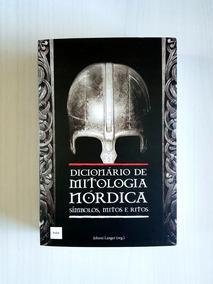 Livro Dicionário De Mitologia Nórdica