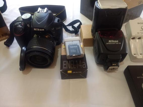 Kit Máquina Fotográfica Nikon Modelo 3.400