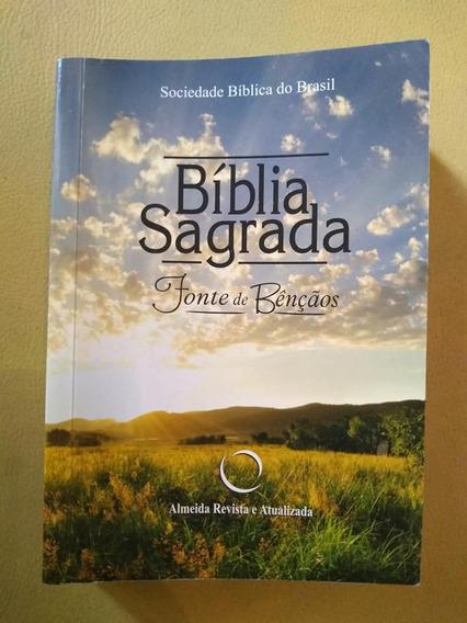 Bíblia Sagrada Fonte De Bençãos - 2a Edição - Ra04lmfb -2017