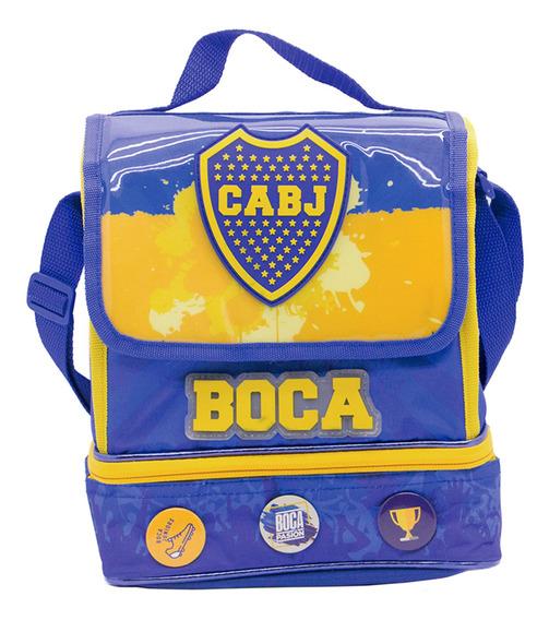 Cresko Lunchera Escolar Termica Boca Jr Escolar