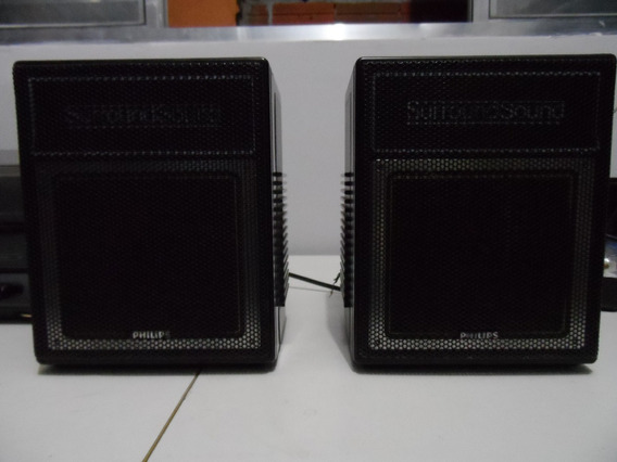 Caixinhas De Som - Philips - Mod. Surround Som