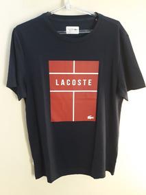 Camiseta Lacoste Sport Masculino Azul Marinho - Original