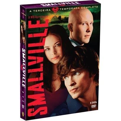 Smallville 3ª Temporada 6 Dvds Lacrado Original - Superman