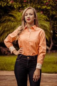 Camisa Kyrillos Feminina Fio 60 100% Algodão Ref.k2000915