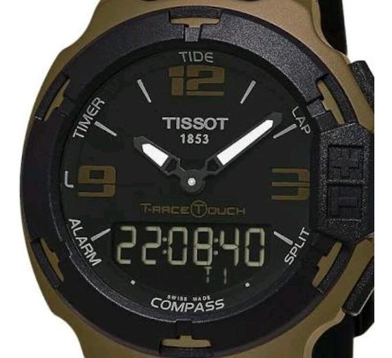 Tissot T-race Touch Aluminium Black Dial Sports Quartz