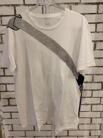 Camiseta Armani Exchange Masculino Branco
