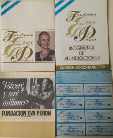 Antiguo Programa De Adjudicaciones Fundación Eva Perón