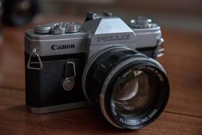 Canon Pellix + Lente 55mm F1.2 - Câmera Vintage / Analógica