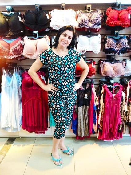 Pijama Liganete Corsario E Blusa