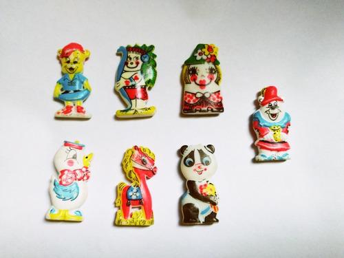 Imagen 1 de 2 de Figura - Juguete Antiguos Colección Jack Chatos Lote X7