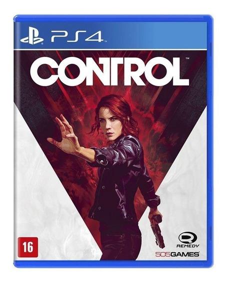 Control - Ps4 - Mídia Física - Novo - Lacrado - Original