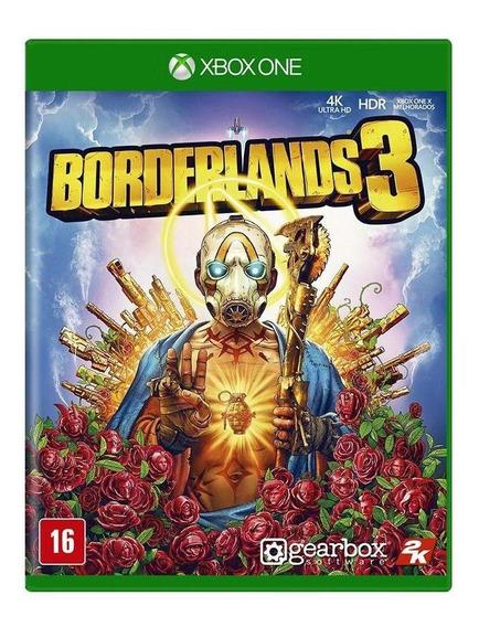 Borderlands 3 Xbox One Mídia Física Novo Lacrado