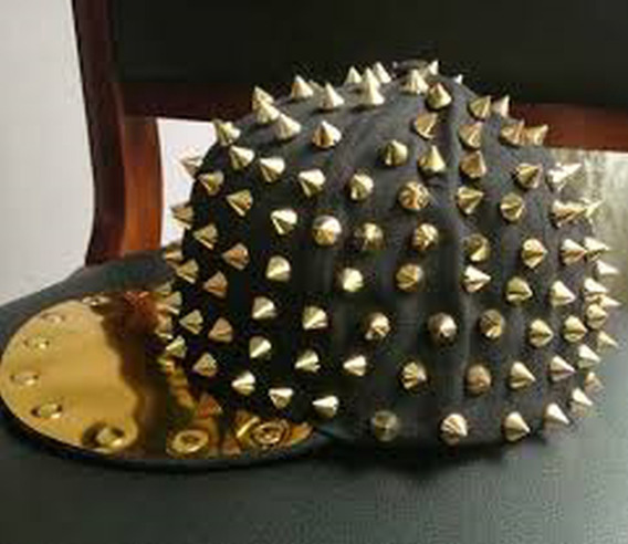 Gorra Punk, Dark, Rockera, Rock Estoperoles Calidad Premium