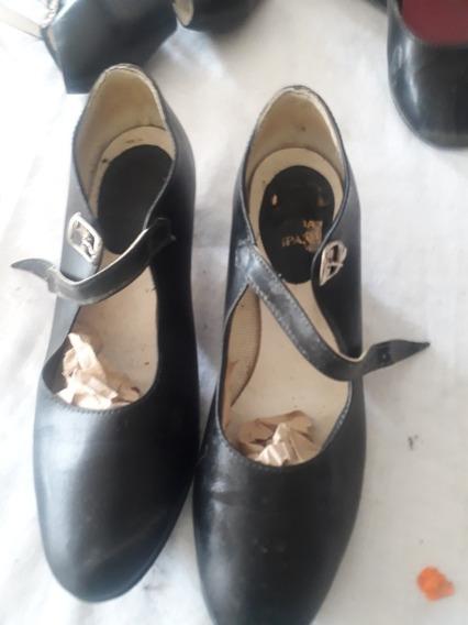 Vendo Zapato Para Baile De Español O Flamenco Medio Uso 35